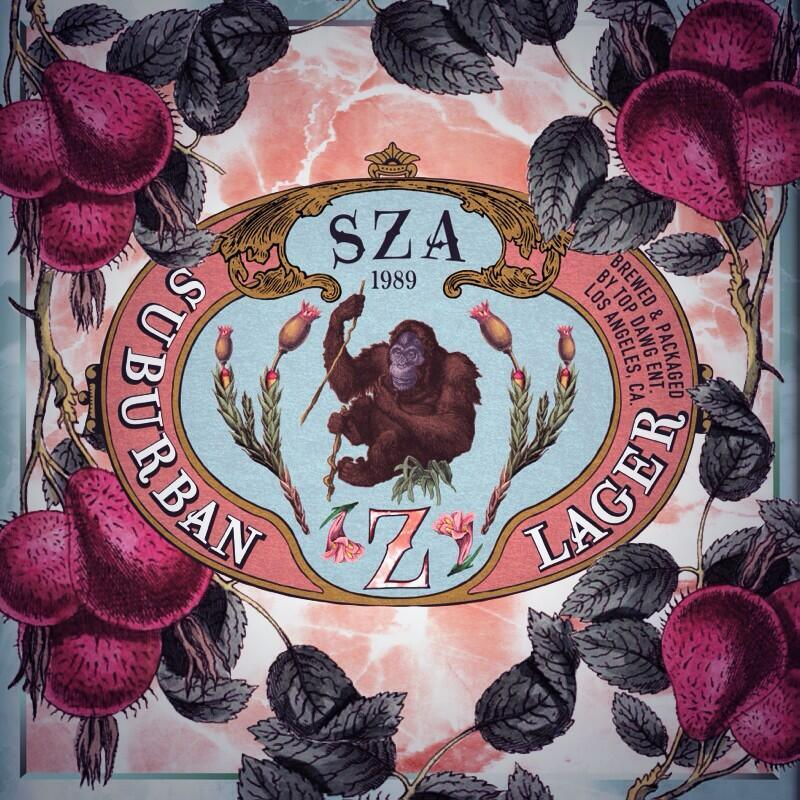 love is a four letter word album cover - sza z albumreview wbrh